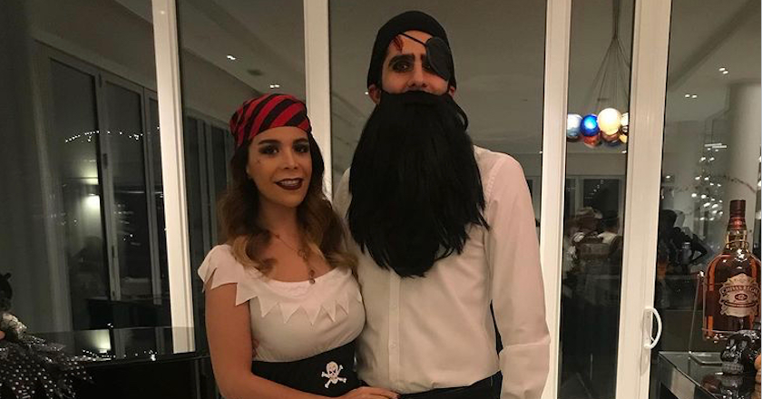 Mohammadhossein Saket and Fatemeh Kazerani - Holloween